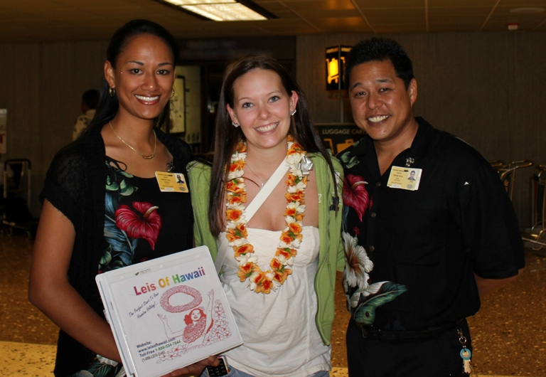 Aloha & Welcome From ~ Your Lei Greeters ~ Denise & Kamanao
